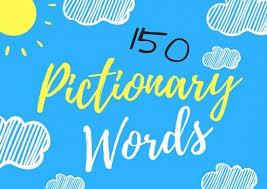150 fun pictionary words hobbylark