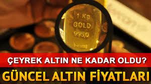 Altın fiyatları neden düşüyor? 18 Nisan gram çeyrek Altın fiyatları ve uzman  yorumları - Son Dakika Ekonomi Haberleri