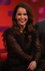 FELICITY JONES at Graham Norton Show in ...