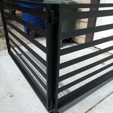 China Black Powder Coated Stainless Steel Railing For Garden China Staircase Handrail