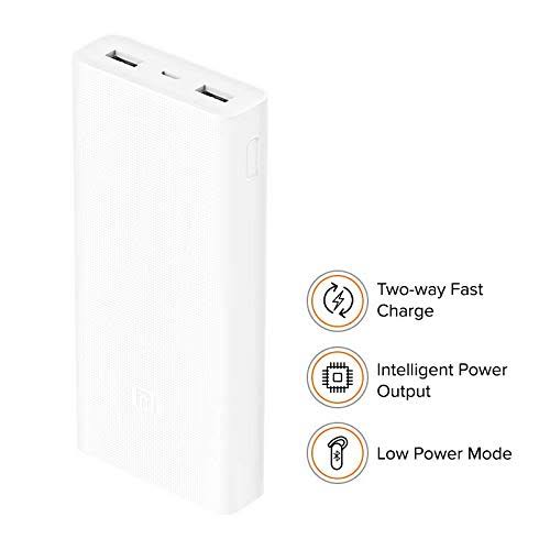 Image result for MI 2i20000mAh power bank with 18W