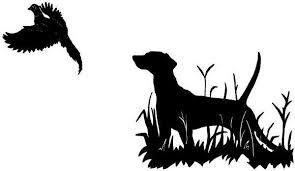 Bird Dog Hunting Pheasant Duck Car Boat Truck Laptop Window Vinyl Decal Sticker