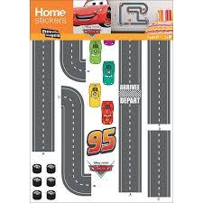Disney Cars Race Track Wall Sticker