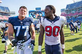 Taylor Lewan makes case for Jadeveon Clowney to join Titans