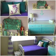 Mermaid Toddler Bedroom Make Over Bedding And Curtains From Target Pillows From Zazzle Velspar Paint And Dresse Big Girl Bedrooms Mermaid Bedroom Girl Room