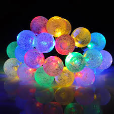 mpow solar outdoor string lights 20ft