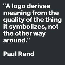 a paul rand logo quote logo quotes corporate logo design