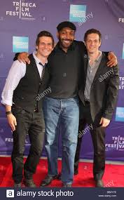 Mark Kassen, Jesse L Martin, Adam Kassen, Director, Producers at the Stock  Photo - Alamy