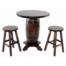 Red Shed Barrel Bistro Bar Table With 2 Stools Tractor Supply Online Store Barrel Table Bar Table Decoration And Furniture