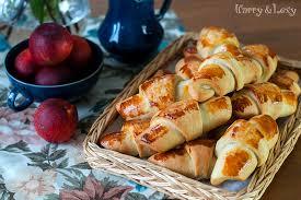 easy homemade feta cheese croissants