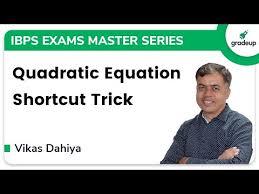 tips tricks to solve quadratic
