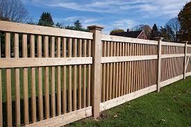 Wood Fence Styles Ct Wood Fence Installation Cedar Wood Fencing