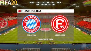 FIFA 20 | Bayern Munchen vs Fortuna Dusseldorf - Bundesliga - Full ...