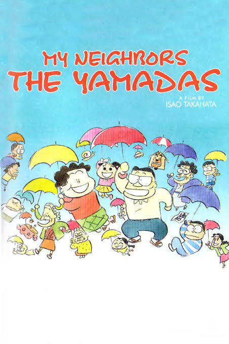 Image result for My Neighbours the Yamadas poster""