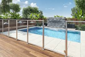 glass pool fencing wire barades