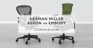 herman miller aeron vs herman miller