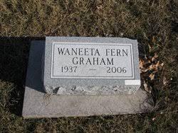 Waneeta Fern Jones Graham (1937-2006) - Find A Grave Memorial