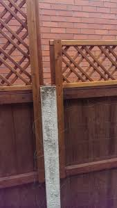 How To Add Trellis To A Fence With Concrete Posts Mumsnet