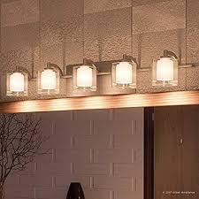 luxury modern bathroom vanity light