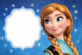 Frozen Tarjetas O Invitaciones Para Imprimir Gratis