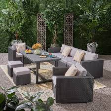 cannes 8 piece sofa seating group with