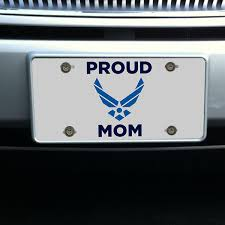 Proud Air Force Mom License Plate 904 Custom