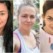no makeup and beautiful 56 women share