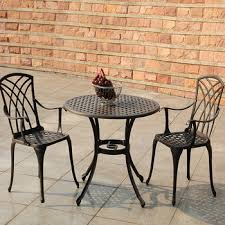 garden table chair bamboo patio