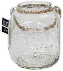 glass tealight candle lantern