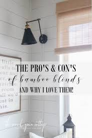 why i love bamboo blinds the wood