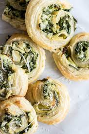 puff pastry spinach and artichoke