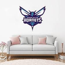 Charlotte Hornets Nba Logo Decoration Floor Wall Decal Sticker Nursery For Home Krafmatics