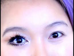 makeup make eyes look bigger asian