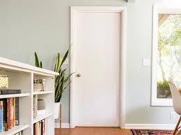 how to hang a door in an existing jamb