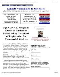 njsa 39 3 20 weight in excess of