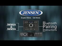 jensen jwm62a wall mount rv bluetooth