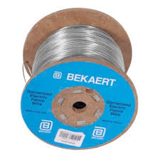 Bekaert 14 Gauge Galvanized Electric Fence Wire 1 2 Mile Spool Tractor Supply Co Tractor Supplies Electric Fence Wire Fence