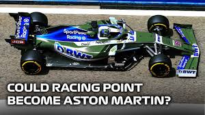 Could Racing Point Become Aston Martin F1 Team? - YouTube