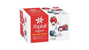 yoplait original yogurt single serve
