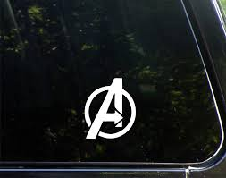 Amazon Com Avengers 3 X 4 Funny Die Cut Decal Bumper Sticker For Windows Cars Trucks Laptops Etc Automotive