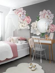 Blue Pink Peony Floral Bouqet Wall Decal Sticker Wall Decals Wallmur
