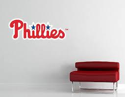 Philadelphia Phillies Mlb Wall Decal Vinyl Sticker Art Baseball Extra Large L226 Ebay