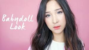 korean baby doll makeup look c c