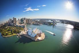australia sydney harbour hd wallpaper