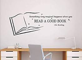 a good book wall quotes decal vinyl sticker home school