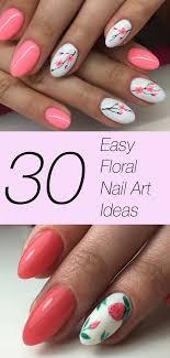 easy fl nail art ideas