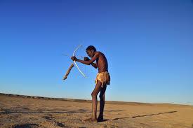 File:Elia Fester, Kalahari Khomani San Bushman, Boesmansrus camp ...