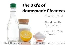 3 big benefits of homemade cleaners