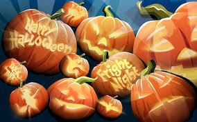 pumpkin lights theme