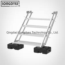 China Aluminum Rooftop Crossover Ladder And Platform China Rooftop Crossover Ladder Crossover Ladder